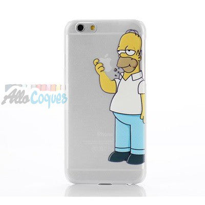 coque iphone 7 bart simpson