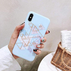 coque iphone 7 motif geometrique