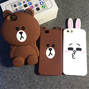 coque iphone 7 plus silicone animaux