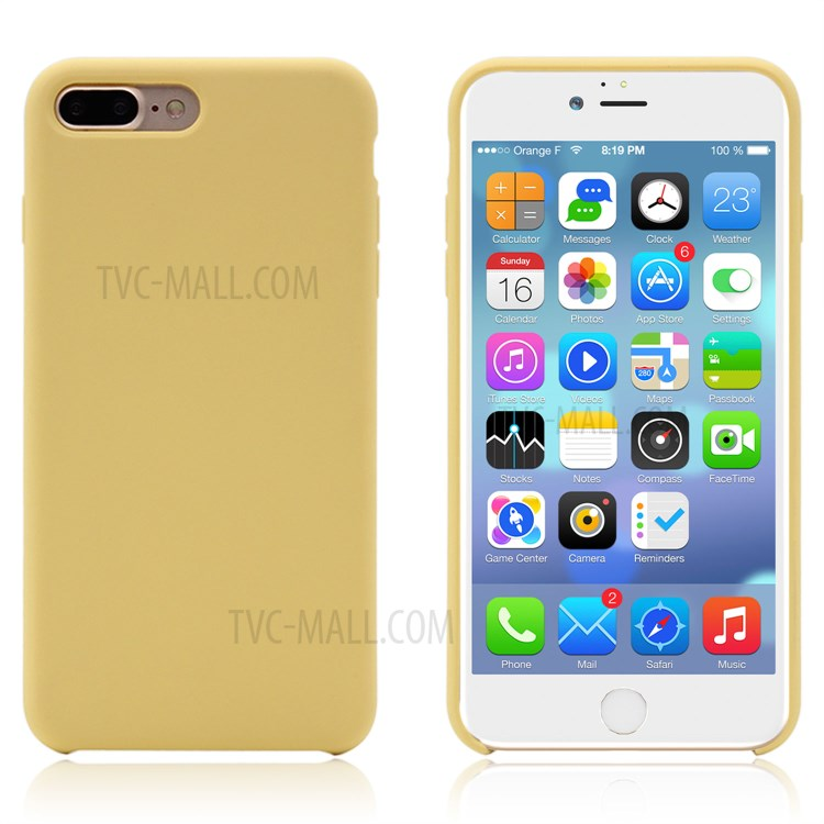 coque 20iphone 207 20plus 20silicone 20jaune 987avo 750x