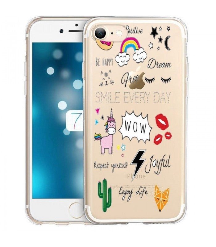 coque iphone 7 positive