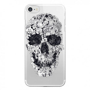 coque iphone 7 skull