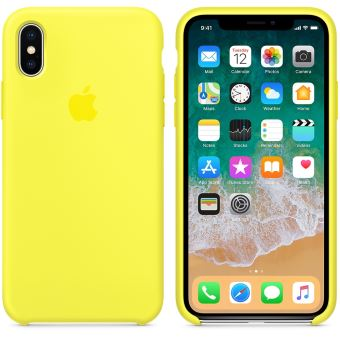 coque iphone xr jaune