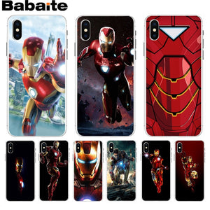 coque iphone xr marvel iron man