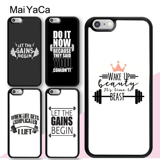 coque iphone 8 motivation