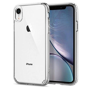 coque iphone xr noir transparente