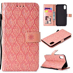 coque iphone xr portefeuille femme