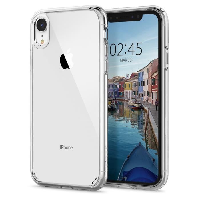coque iphone xr transparente dur