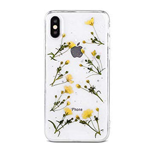 coque iphone xr transparente jaune