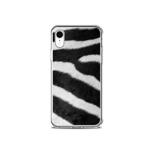 coque iphone xr zebre