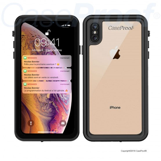 coque iphone xs antichoc 360