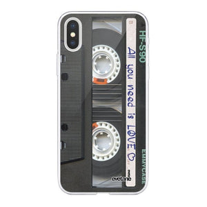 coque iphone xs cassette