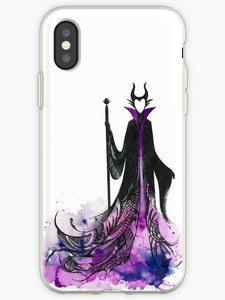 coque iphone xs disney malefique