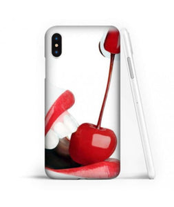 coque iphone xs max cerise