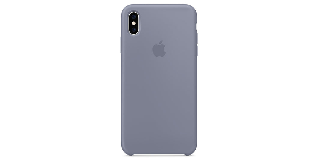 coque iphone xs max gris lavande