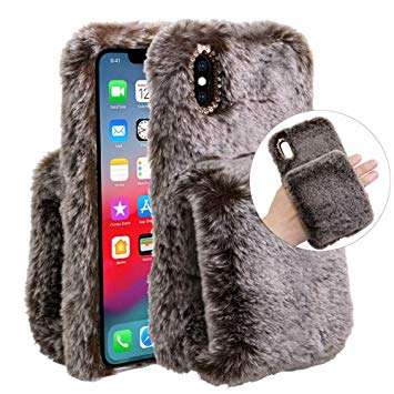 coque iphone xs max peluche