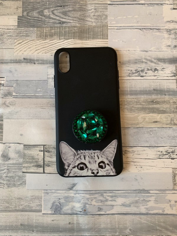 coque iphone xs max popsocket
