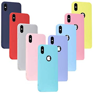 coque iphone xs max rose rouge