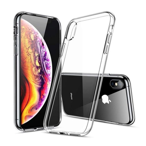 Coque silicone iPhone XS Max Transparente Roar Transparent Souple Silicone Anti choc (Transparent)