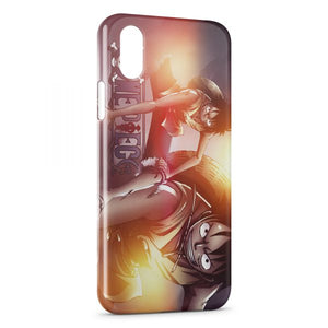 coque iphone xs one piece luffy