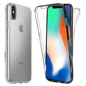 coque iphone xs silicone 360