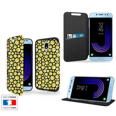 coque portefeuille galaxy j7 2017