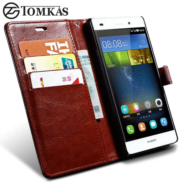coque portefeuille huawei p8
