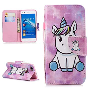 coque pour huawei y6 pro 2017 licorne