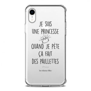 coque princesse iphone xr