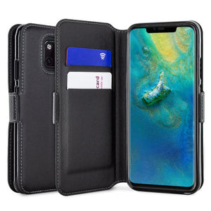 coque protection portefeuille huawei mate 20 pro