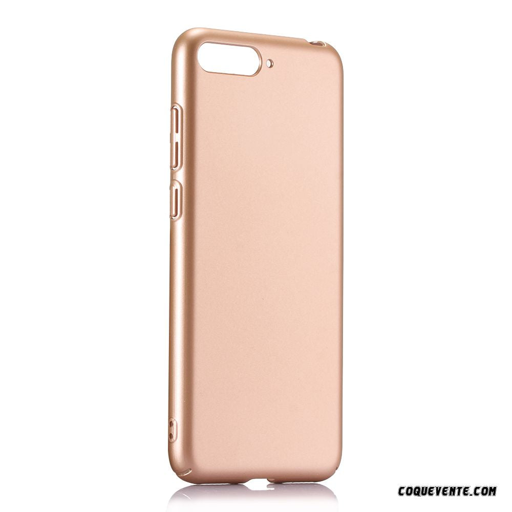 coque rose pale huawei y6 2018