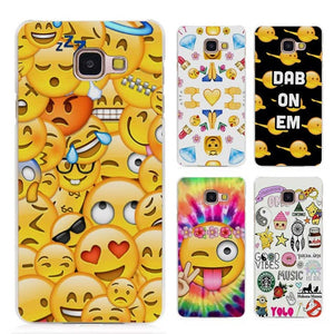 coque samsung a5 2016 smiley