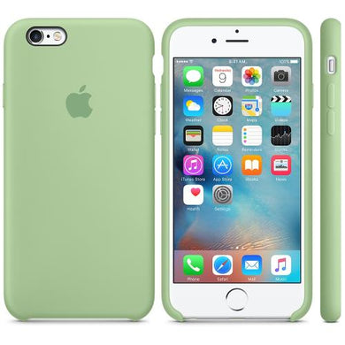 coque silicone iphone 7 verte