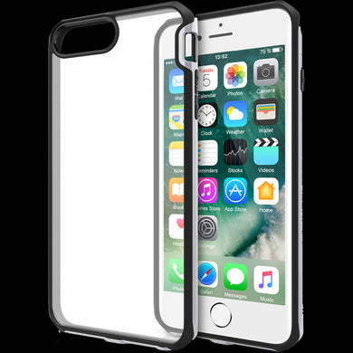 coque transparente iphone 7 bord noir