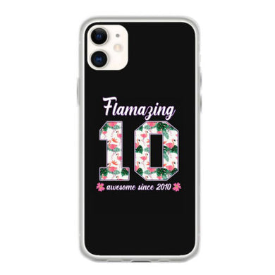 flamazing awesome since 2010 coque iphone 11
