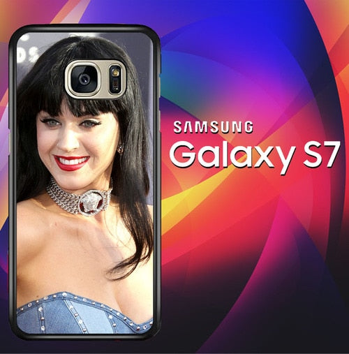 Katy Perry Beauty X1238 coque Samsung Galaxy S7