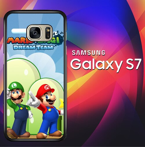 Luigi Face X2449 coque Samsung Galaxy S7
