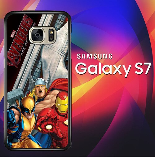 Marvel Age Of Ultron X2750 coque Samsung Galaxy S7