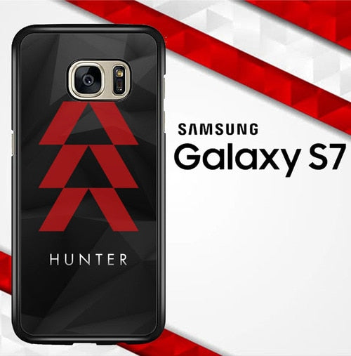 Destiny Hunter Logo X3647 coque Samsung Galaxy S7