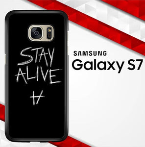 Twenty One Pilots Stay Alive X4419 coque Samsung Galaxy S7