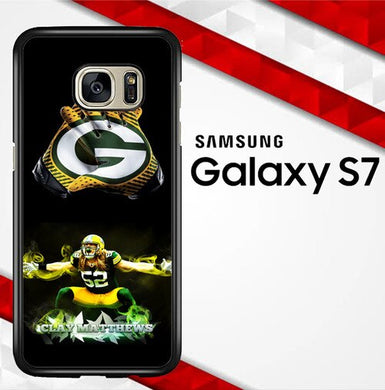 Green Bay Packers X4780 coque Samsung Galaxy S7