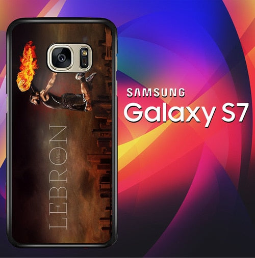 Cool Lebron James X5049 coque Samsung Galaxy S7