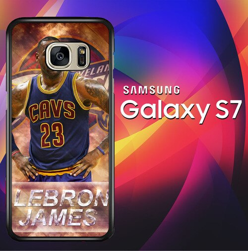 LeBron James The King X5051 coque Samsung Galaxy S7
