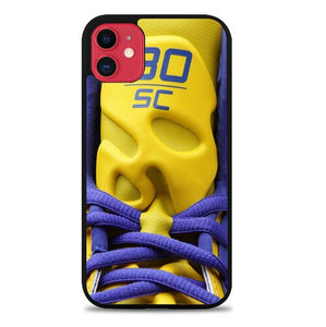 stephen curry logo shoes X5852 coque iphone 11