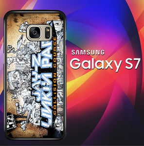 Jay Z And Linkin Park X0376 coque Samsung Galaxy S7