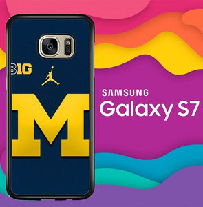 michigan wolverines X8829 coque Samsung Galaxy S7