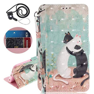 huawei p20 lite coque portefeuille animaux