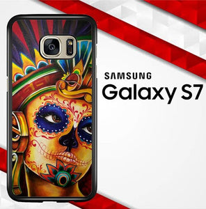 Aztec Art Y0564 coque Samsung Galaxy S7