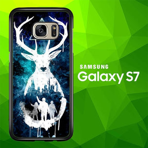 Harry potter LOGO W0012 coque Samsung Galaxy S7