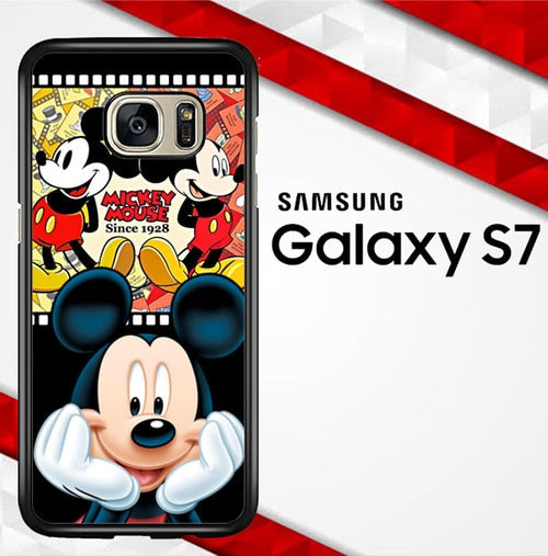 mickey mouse W3170 coque Samsung Galaxy S7